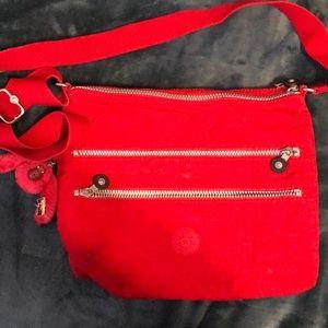 Kipling Alvar red crossbody bag